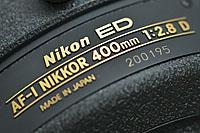 Nikkor AF-I 400mm f/2.8D ED