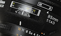 Nikkor AF 85mm f/1.4D