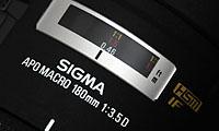 Sigma AF 180mm f/3.5 EX HSM APO Macro