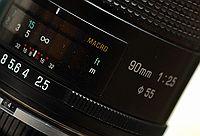 Tamron SP 90mm f/2.5 Macro